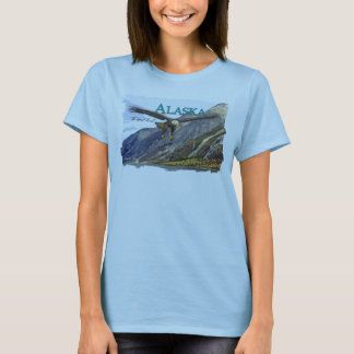 Alaska Ladies Baby Doll (Fitted) T-Shirt