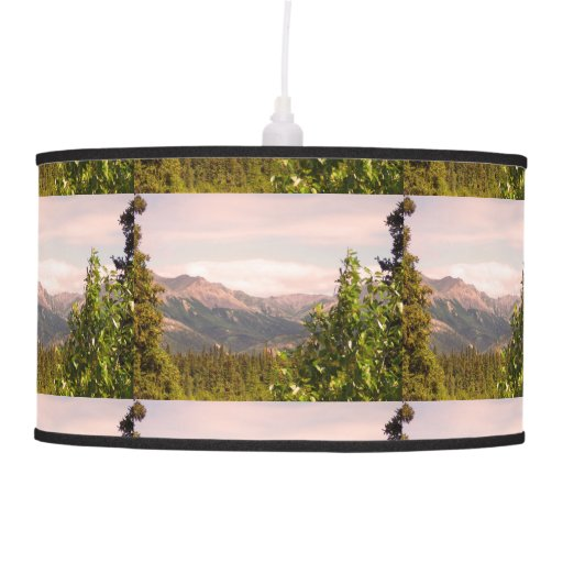 Alaska Landscape Hanging Pendant Lamp