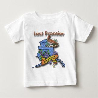 Alaska Last Frontier bird flower Baby T-Shirt