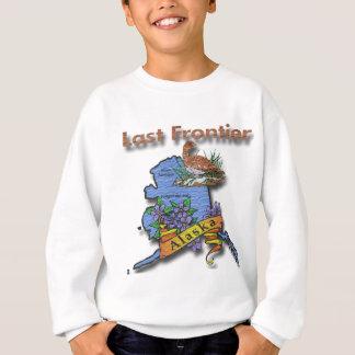 Alaska Last Frontier bird flower Sweatshirt