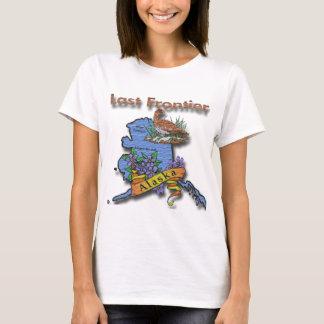 Alaska Last Frontier bird flower T-Shirt