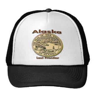 Alaska Last Frontier State Seal Trucker Hat