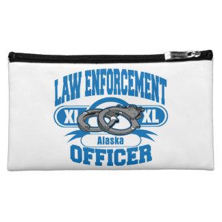 Alaska Law Enforcement Officer Handcuffs Makeup Bag