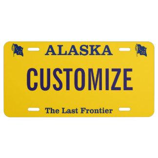 Alaska License Plate Custom