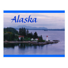 Alaska Lighthouse Postcard at Zazzle