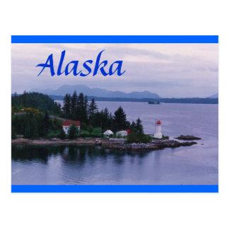 Alaska Lighthouse Postcard