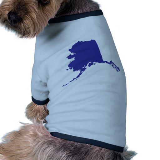 Alaska los E.E.U.U. Camisa De Mascota