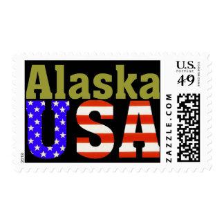 ¡Alaska los E.E.U.U.! Sello