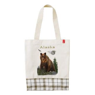 Alaska merchandise zazzle HEART tote bag