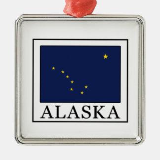 Alaska Metal Ornament