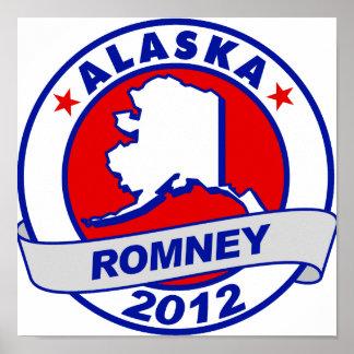 Alaska Mitt Romney Poster