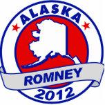 Alaska Mitt Romney Photo Sculptures
