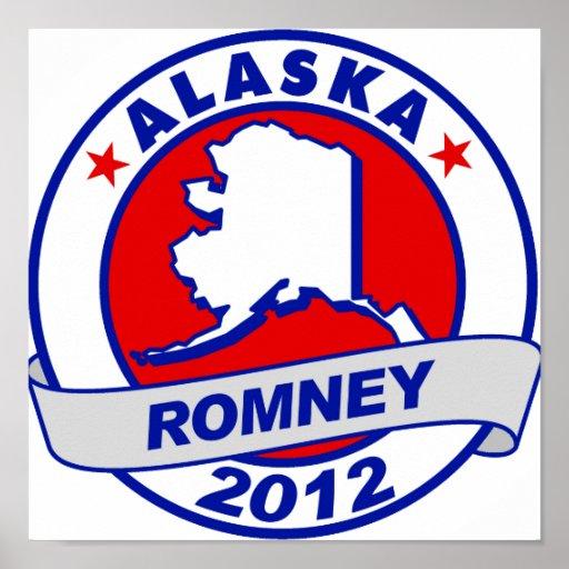 Alaska Mitt Romney Posters