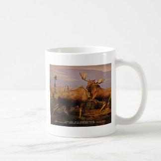 alaska moose coffee mugs