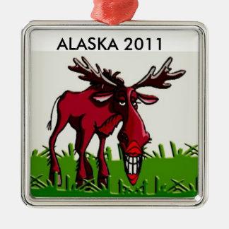 Alaska Moose Ornament