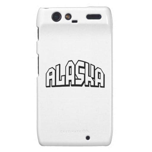 Alaska Motorola Droid RAZR Carcasa