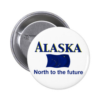 Alaska Motto Button