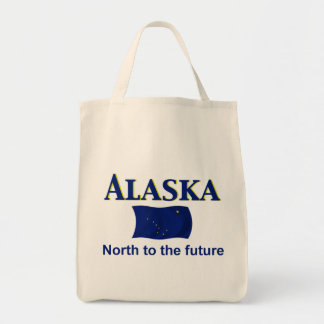 Alaska Motto Tote Bag