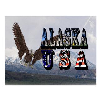 Alaska Mount McKinley Post Card