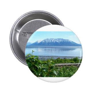 Alaska Mountain along Turnagain Arm Buttons