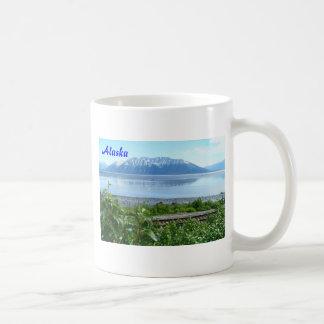 Alaska Mountain along Turnagain Arm Classic White Coffee Mug