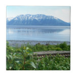 Alaska Mountain along Turnagain Arm Tiles