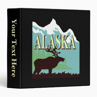 Alaska Mountain Binder