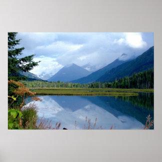 Alaska Mountain Print