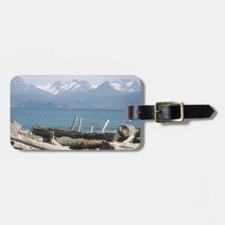 Alaska Mountain Scenery Travel Bag Tags