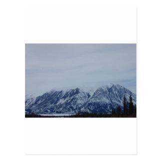 Alaska Mountains Postcard
