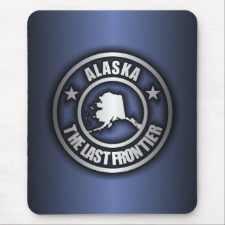 """Alaska"" Mousepad de acero (azul)"