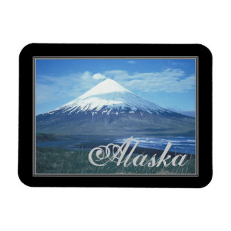 Alaska Mt. Cleveland, Chuginadak Island Magnet
