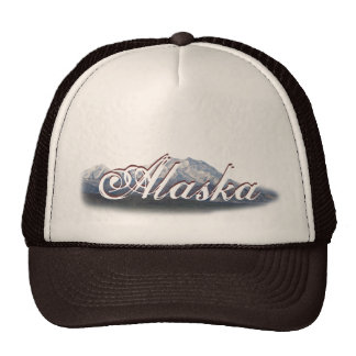 Alaska Mt McKinley Baseball Cap Trucker Hat