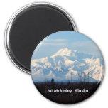 Alaska, Mt Mckinley, Denali, Imán De Nevera