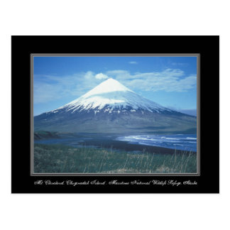 Alaska Mt. postal de Cleveland, isla de Chuginadak