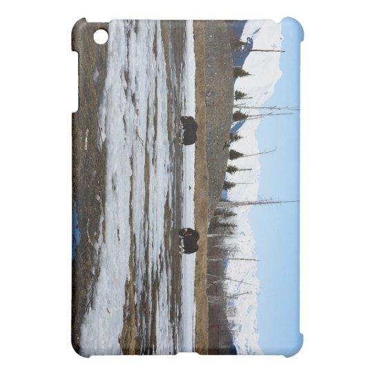 Alaska Musk Oxen Case For The iPad Mini