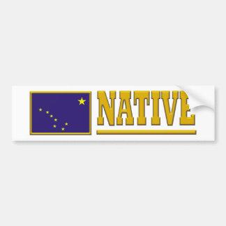 Alaska Native Bumper Sticker