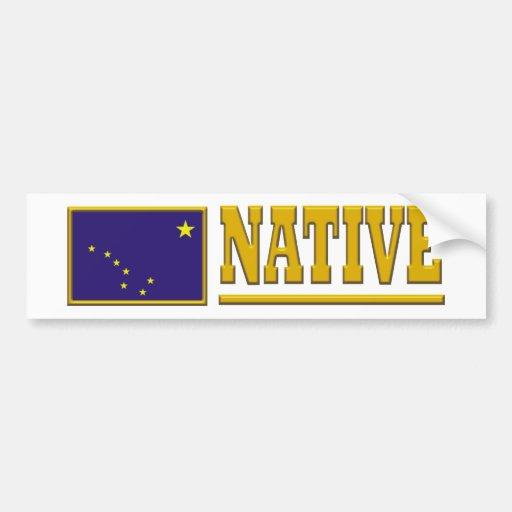 Alaska Native Car Bumper Sticker