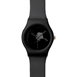 Alaska negra y gris relojes de mano