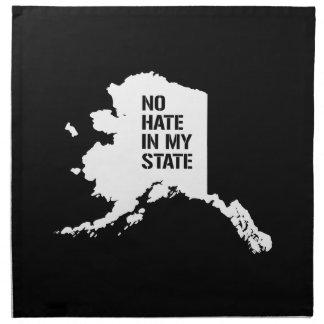 Alaska: Ningún odio en mi estado Servilletas
