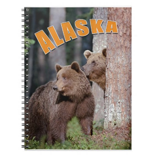 Alaska Spiral Note Book