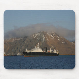 Alaska Ocean, Factory Trawler in Dutch Harbor, AK Mousepad