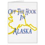 Alaska - Off The Hook Greeting Cards