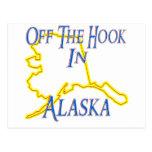 Alaska - Off The Hook Post Card