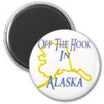 Alaska - Off The Hook Refrigerator Magnet