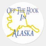 Alaska - Off The Hook Stickers