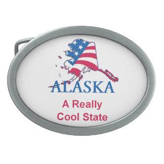 ALASKA OVAL BELT BUCKLE