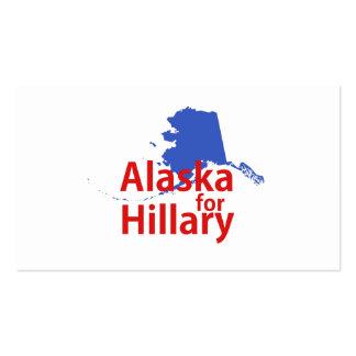 Alaska para Hillary Tarjetas De Visita