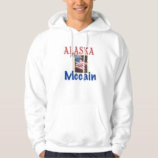 Alaska para la ropa de Mccain Sudadera Con Capucha