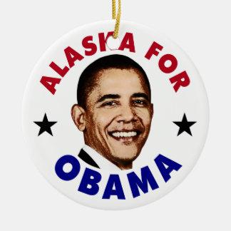 Alaska para Obama Ornamentos Para Reyes Magos